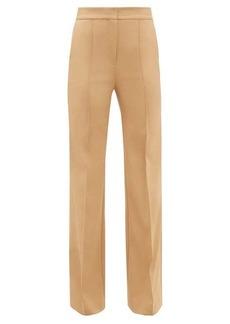 Diane Von Furstenberg Kimberley flared-cuff technical-twill trousers