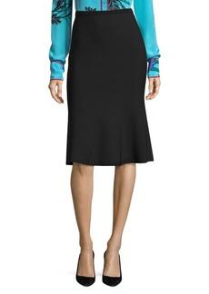 Diane Von Furstenberg Knit Flute Skirt