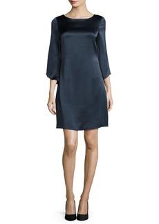 Diane von Furstenberg Korrey Satin Shift Dress