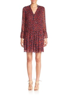 Diane von Furstenberg Kourtni Silk Shirt Dress