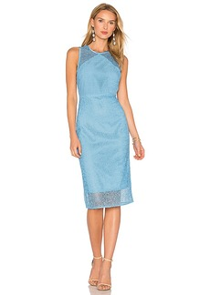 Diane von Furstenberg Lace Dress in Blue. - size 2 (also in 4,6)