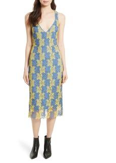 Diane von Furstenberg Lace Midi Dress