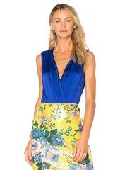 Diane von Furstenberg Lala Bodysuit in Royal Blue. - size M (also in S,XS)