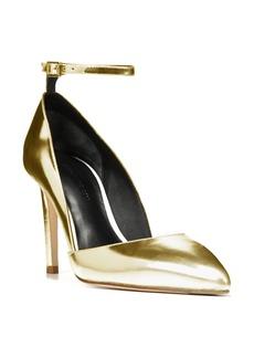 Diane von Furstenberg Laredo Ankle Strap Pump (Women)