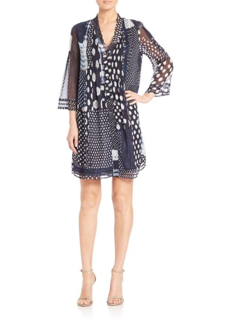 Diane von Furstenberg Layla Printed Silk Dress
