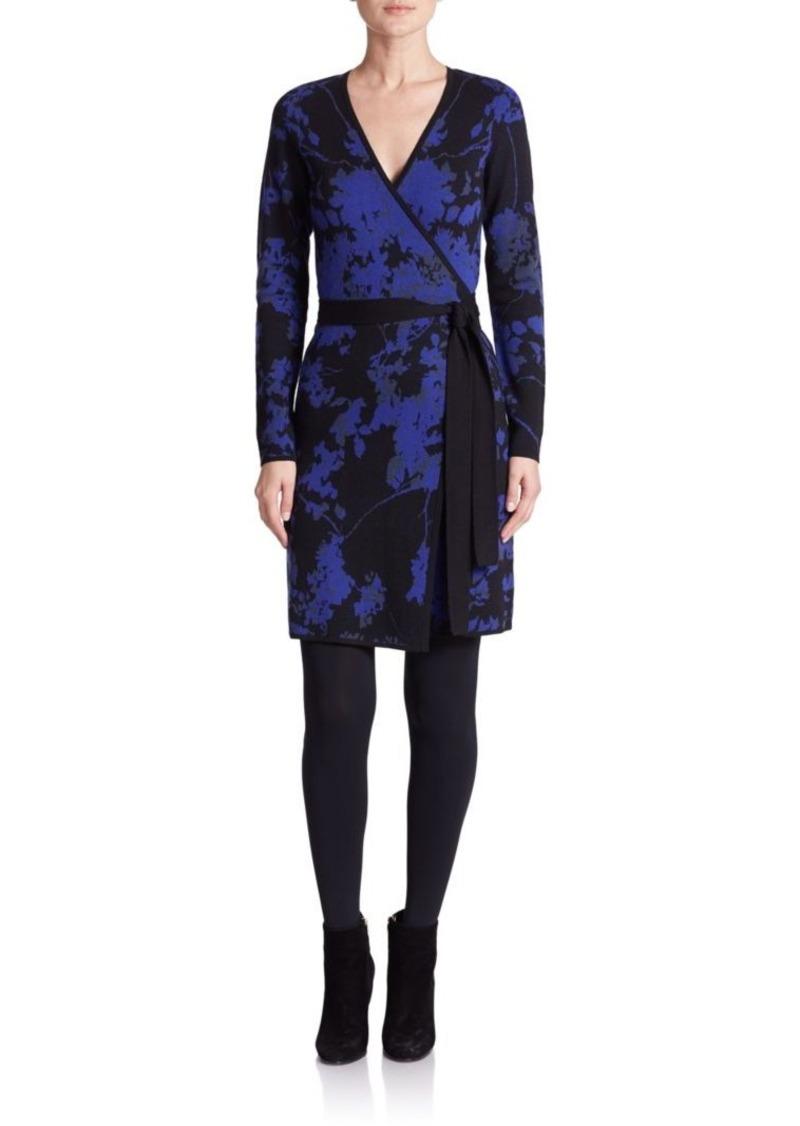 Diane von Furstenberg Leandra Wool Wrap Dress