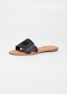 Diane von Furstenberg Link Slide Sandals