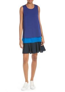 Diane von Furstenberg Lisa Silk Sheath Dress