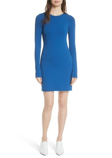Diane von Furstenberg Long Sleeve Minidress