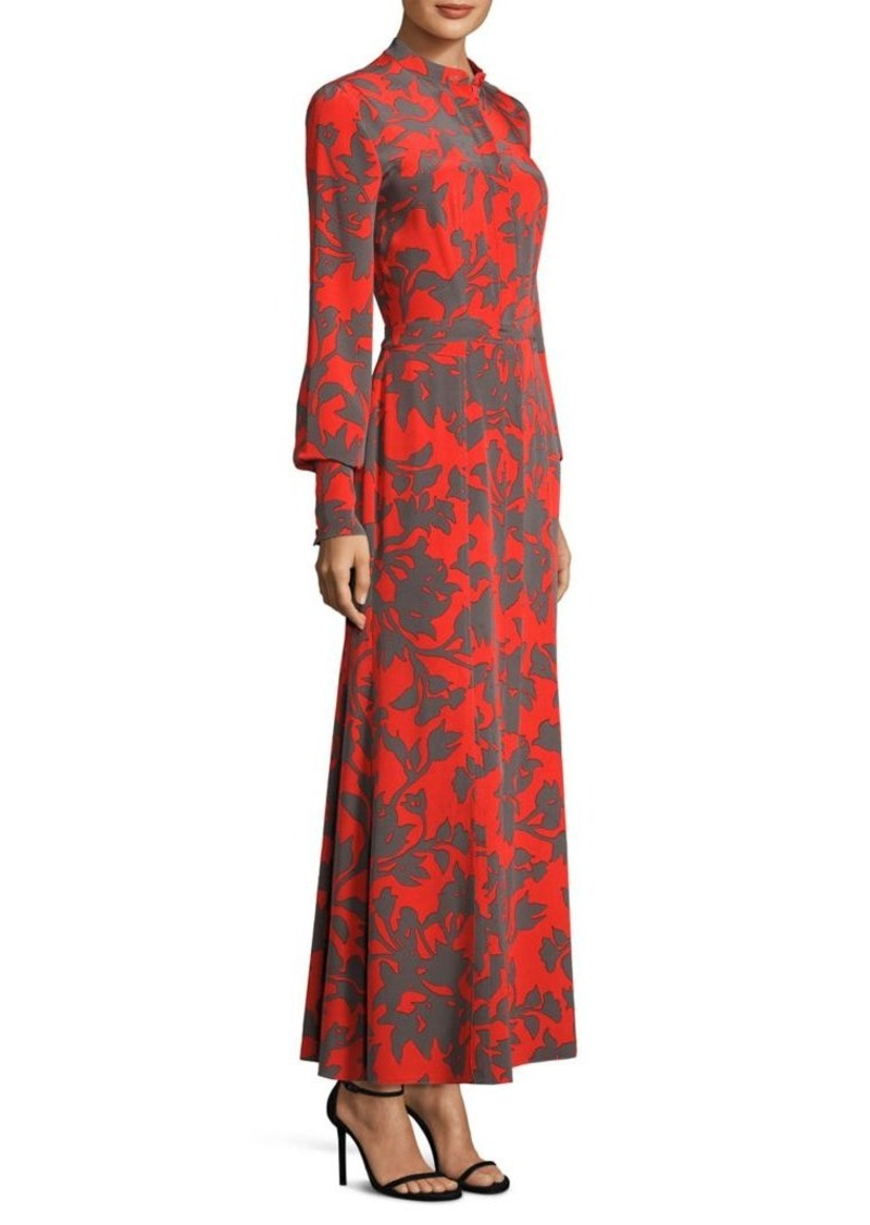 43cc2540de Diane Von Furstenberg Diane von Furstenberg Long-Sleeve Silk Shirt ...