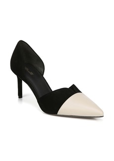 Diane von Furstenberg Love Notched d'Orsay Pump (Women)