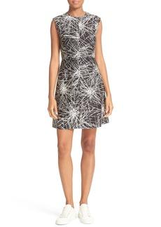 Diane von Furstenberg Madyson Print Fit & Flare Dress