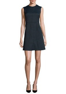 Diane von Furstenberg Madyson Printed Sleeveless A-Line Dress