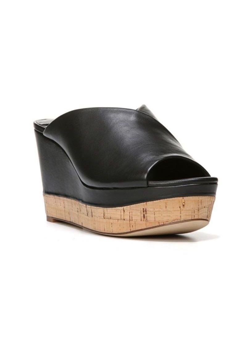 Diane von Furstenberg Manila Leather Wedge Platform Sandals