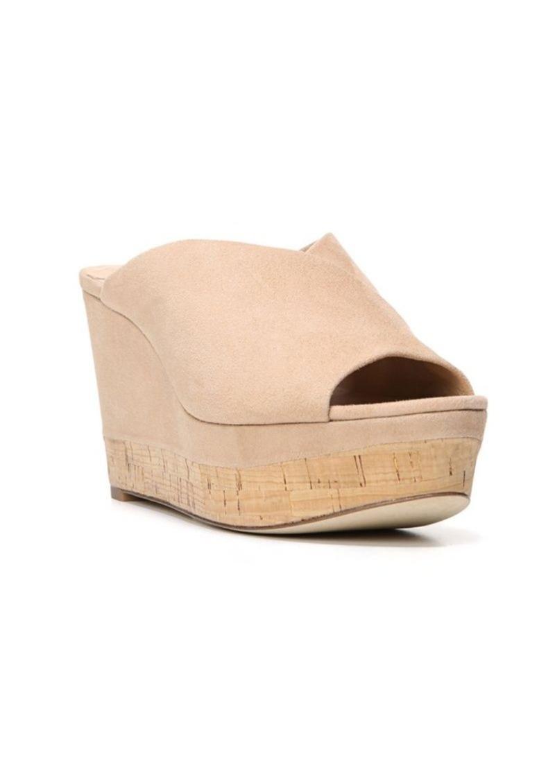 Diane von Furstenberg Manila Suede Wedge Platform Sandals
