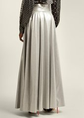 Diane Von Furstenberg Metallic long skirt
