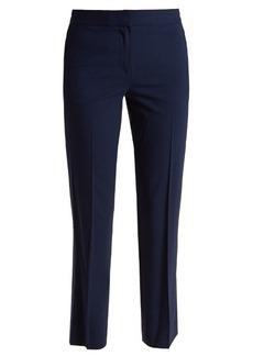 Diane Von Furstenberg Mid-rise wool-blend cigarette trousers
