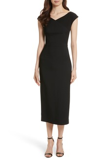 Diane von Furstenberg Midi Sheath Dress