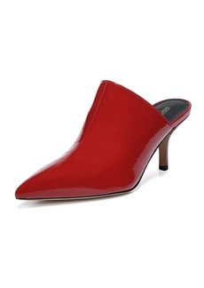 Diane von Furstenberg Mikaila Patent Pointed Mules