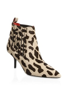 Diane von Furstenberg Mollo Calf Hair Booties
