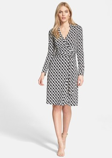 Diane von Furstenberg 'New Jeanne Two' Print Silk Wrap Dress