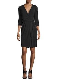 Diane von Furstenberg New Julian Two Matte Jersey Wrap Dress
