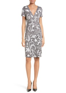 Diane von Furstenberg New Julian Two Silk Wrap Dress