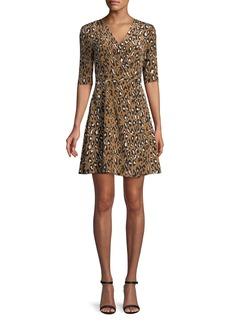 Diane von Furstenberg New Savilla Silk Mini Dress