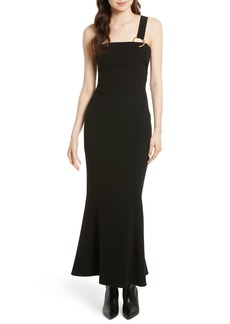 Diane von Furstenberg One-Shoulder Gown