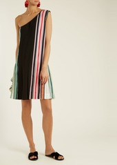 Diane Von Furstenberg One-shoulder pleated dress