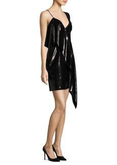 Diane Von Furstenberg One-Shoulder Ruffle Dress
