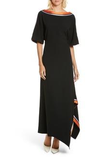 Diane von Furstenberg Open Back Ribbon Trim Dress