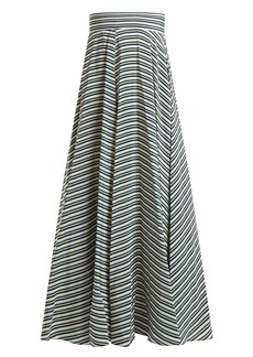 Diane Von Furstenberg Paxton striped silk skirt