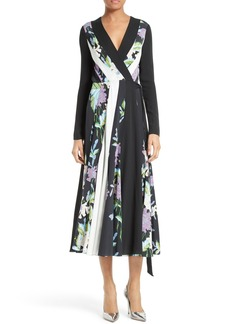 Diane von Furstenberg Penelope Fit & Flare Wrap Dress