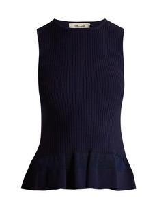 Diane Von Furstenberg Peplum-hem sleeveless top