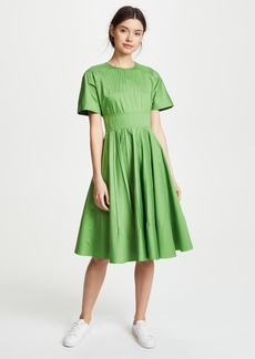 Diane von Furstenberg Pin Tuck Dress