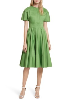Diane von Furstenberg Pintuck Dress