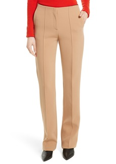 Diane von Furstenberg Pintuck Pleated Pants