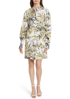 Diane von Furstenberg Pintuck Shirtdress