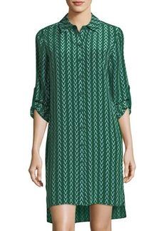 Diane von Furstenberg Prita Printed Shirtdress