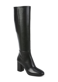 Diane von Furstenberg Reese Leather Block Heel Boot (Women)