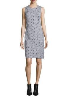 Diane von Furstenberg Regenna Mini Ribbon Rectangles Sheath Dress
