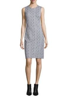 Diane von Furstenberg Regenna Mini Ribbon Rectangles Sheath Dress