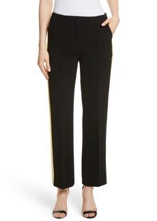 Diane von Furstenberg Ribbon Stripe Wide Leg Pants