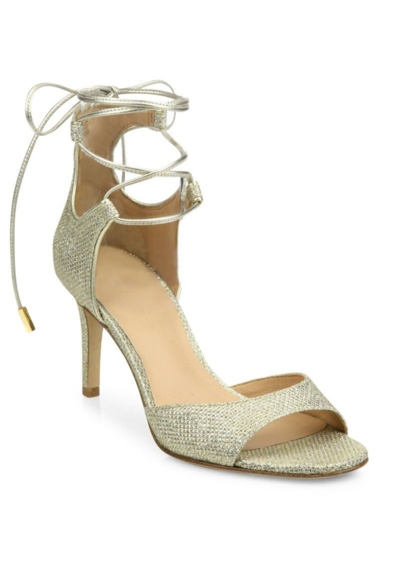 Diane von Furstenberg Rimini 2 Diamond-Textured Sandals