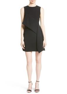 Diane von Furstenberg Ruffle Front Minidress