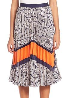 Diane von Furstenberg Saphira Pleated Skirt