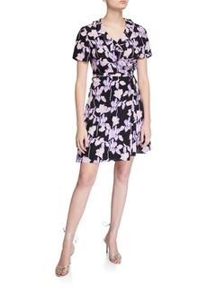 Diane von Furstenberg Savilla Floral-Print Wrap Dress
