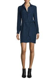 Diane von Furstenberg Seanna Belted Silk Shirtdress