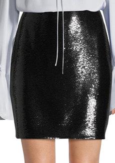 Diane von Furstenberg Sequin Mini Skirt